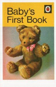 Babys First Book Teddy Bear Childrens First Edition Ladybird Book Postcard