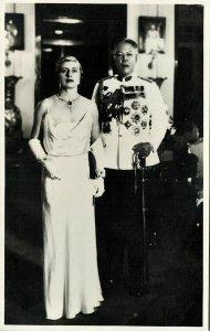 malay malaysia, JOHOR JOHORE, Sultan Ibrahim & Helen Bartholomew (1930s) RPPC (1