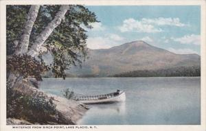 New York Lake Placid Whiteface Mountain From Birch Point