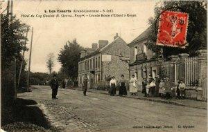 CPA AK LES ESSARTS Hotel du Coq Gautois Grande Route (868960)