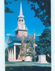 Pre-1980 CHURCH SCENE Gettysburg Pennsylvania PA AD0788