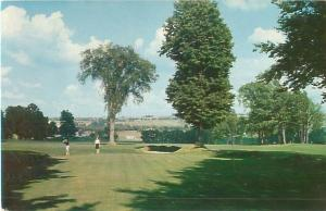 New York, Malone Country Club Golf Course (Malone Golf Club) 10th Green Postcard