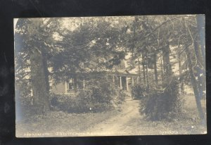 RPPC OXFORD OHIO PATTERSON PLACE 2 OF 4 RESIDENCE VINTAGE REAL PHOTO POSTCARD