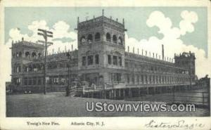 Young's New Pier Atlantic City NJ 1907