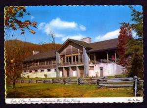 VA Peaks of Otter Restaurant BEDFORD VIRGINIA Postcard