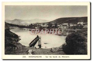 Old Postcard Madagascar On the Banks of the Manaoro