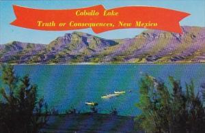 New Mexico Truth Or Consequences Caballo Lake On The Rio Grande River