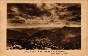 CPA Espagne VALLE DE LAS BATUECAS - Vista desde el portillo (303829)