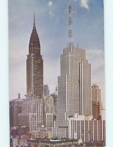 Unused Pre-1980 CHRYSLER BUILDING New York City NY hn8317-13