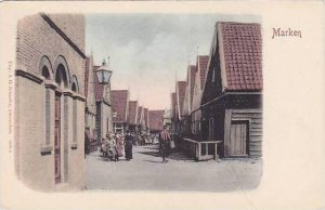 Netherlands Marken Street Scene