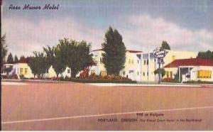OR Portland Rose Manor Motel