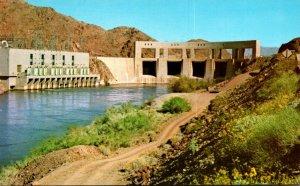 Arizona Parker Dam Between Lake Havasu and The Parker Strip