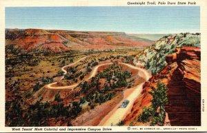 Texas Palo Duro State Park Goodnight Trail Curteich