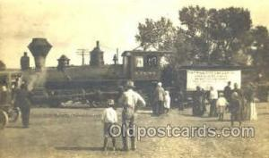 AT&SF Train Trains, Postcard Postcards  AT&SF