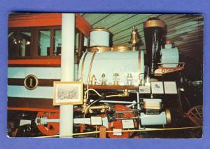 Lincoln, Nebraska/NE Postcard, Pioneer Village/Locomotive
