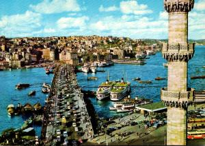 Turkey Istanbul The Galata Bridge
