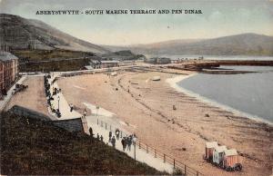 uk13191 south marine terrace and pen dinas  aberystwyth  wales   uk