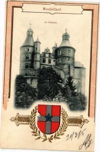 CPA MONTBÉLIARD - Le Chateau (21/3/05) (183076)