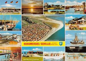 GG12672 Horumersiel Schillig Campingplatz, Gemeinschaftshaus Jachthafen Strand