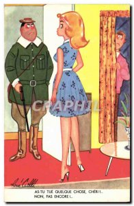 Old Postcard Fantasy Humor Hunting Hunter Rene Caille