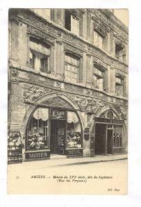 Maison Du XVI Siecle, Dite Du Sagittaire (Rue Des Vergeaux), Modes Deuil, Ami...