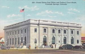 United States Post Office and Federal Court House, Colorado Springs, Colorado...