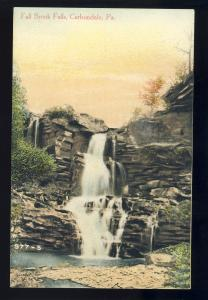 Carbondale, Pennsylvania/PA/Penn Postcard, Fall Brook Falls