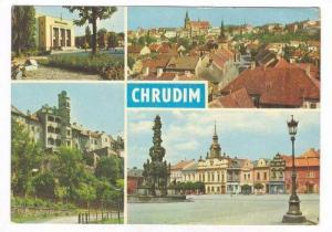 4-view CHRUDIM, Czech Republic, PU-1974