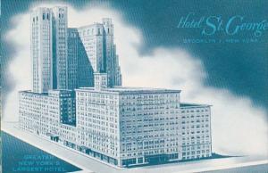 New York Brooklyn Hotel Saint George Clark Street