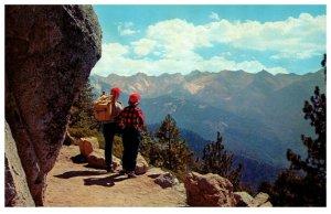 Eagle View Point High Sierra Trail Sequoia National Park California