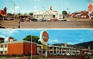 Utah Salt Lake City Covey's New America Motel & Coffee Shop 1961