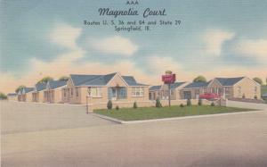 SPRINGFIELD, Illinois, 1930-40s; Magnolia Court