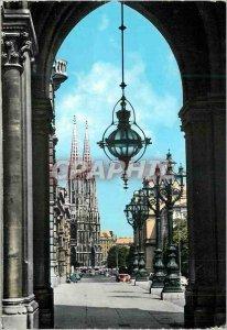 Postcard Modern Vienna Votive Church