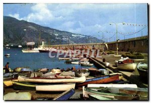 Postcard Moderne Menton AM Wearing Basically the border and Italy