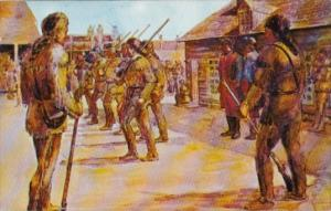 The Garrison Of Fort Frederick
