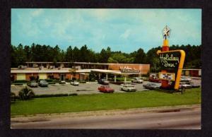 GA Holiday Inn Motel JESUP GEORGIA POSTCARD POST CARD