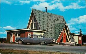 Aulac New Brunswick~Travel & Information Bureau NB & PEI NICE 1950s Closeup