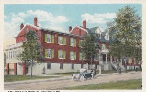 FREDERICK , Maryland, 00-10s ; Frederick City Hospital