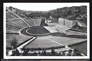 Summer Olympic Games Berlin 1936 Dietrich Eckhardt Open Air Theater RPPC
