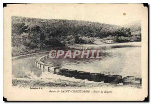 Old Postcard Basin St. Kitts - Route Rognes
