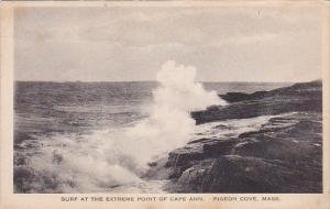 Surf At The Extreme Point Of Cape Ann Pigeon Cove Massachusetts Albertype 1921