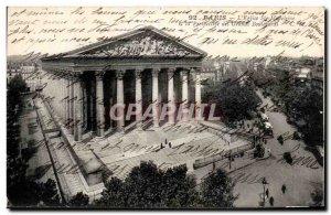 Old Postcard Paris L & # 39Eglise Ste Madeleine