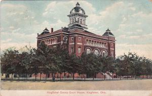 KINGFISHER, Oklahoma, 00-10s; Kingfisher County Court House