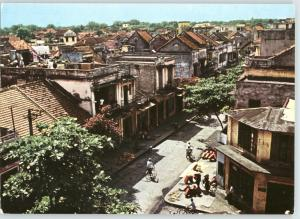 Vietnam Việt Nam HANOI An Old Living Quarter Photo Picture Postcard