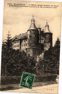 CPA MONTBÉLIARD - Le Chateau ancienne Résidence des Prices de .. (183034)