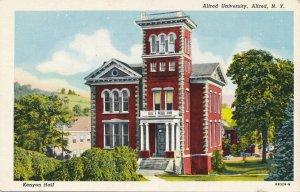 Kenyon Hall at Alfred University NY, New York