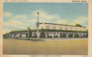 SEYMOUR , Texas , 1930-40s ; De Luxe Court