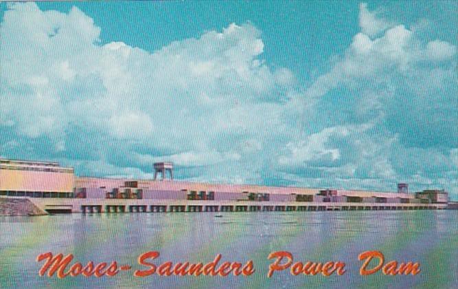 New York Massena Moses-Saunders Power Dam