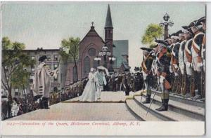 Coronation of the Queen, Halloween Carnival, Albany NY