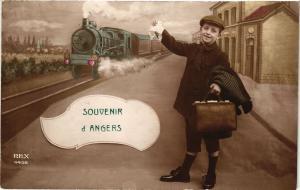 CPA Souvenir d'ANGERS (189816)